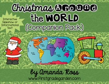 Christmas Around the World Interactive Slideshow or Informational Text