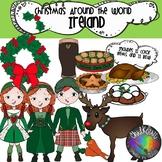 Christmas Around the World Ireland Clip Art- Chalkstar Graphics