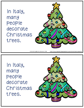 Christmas Around the World: Italy Emergent Easy Reader and Flip Book