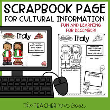 Christmas Around the World: Italy Freebie for 3rd - 6th Grade | TpT
