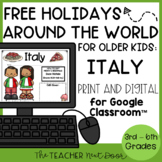 FREE Holidays Around the World: Italy Print and Digital for 3rd - 6th Grade
