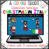 Christmas Around the World Italy Google Slides