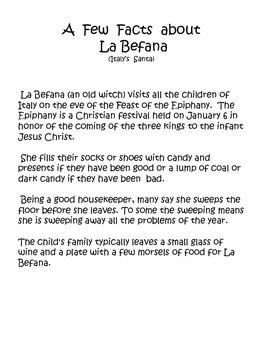 Christmas Around the World (Italy La Befana)