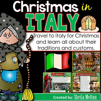 Christmas Around the World PowerPoint: Italy