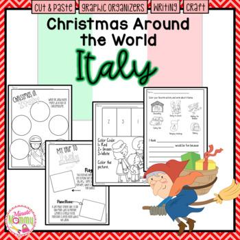 Christmas Around the World: Italy Scrapbook