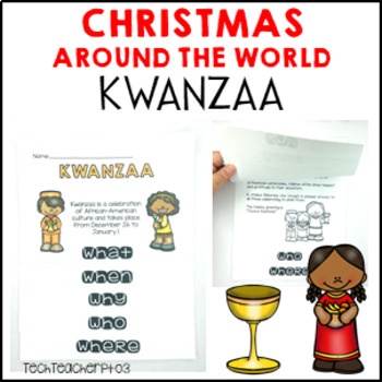 Christmas Around the World Kwanzaa Flip Book
