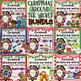 Christmas Around the World Label and Color - BUNDLE