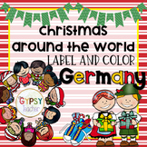 Christmas Around the World Label and Color - GERMANY