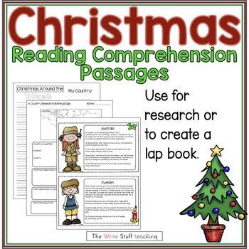 Holidays Around the World Christmas Around the World Lap Book