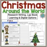 Christmas Around the World Lap Book & Google Slides™ Micro