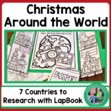 Christmas Around the World Lap Book {Nonfiction Research Activities}