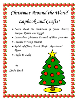 Christmas Around the World Lapbook Grades Kindergarten through 2nd Gradfe
