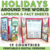Christmas Around the World Lapbook and Research BUNDLE