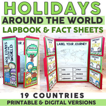 Holidays Around the World | Christmas Around the World | Christmas Activities