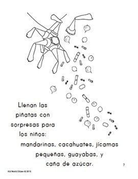 Christmas Around the World ~ Las Posadas Activities and Minibook in Spanish
