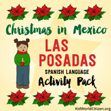 Christmas Around the World ~ Las Posadas Activities and Minibook in Spanish