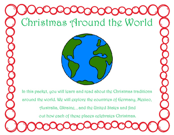 Christmas Around the World Learning Packet