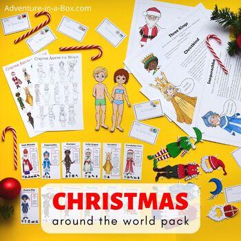Christmas Around the World Lesson Plan Bundle