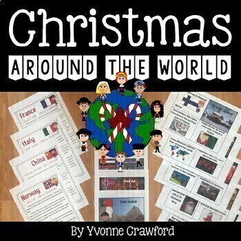 Christmas Around the World Literacy Activities Growing End