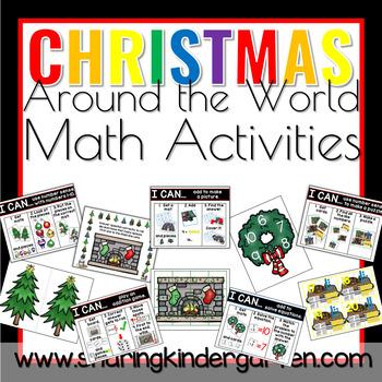 Christmas Around the World Math Activities