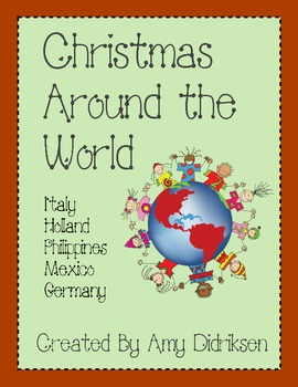 Christmas Around the World: Math and Literacy Activities