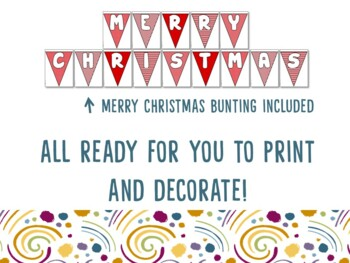 Christmas Around the World Mega Classroom Posters Bundle