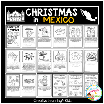 Christmas Around the World:Mexico Book