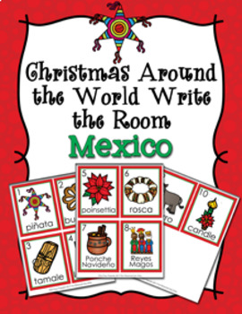 Christmas Around the World Mexico Write the Room