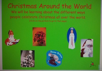 Christmas Around the World Mimio lesson