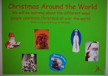 Christmas Around the World Mimio lesson