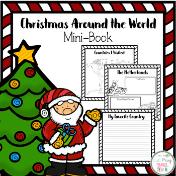 Christmas Around the World Mini Book 1-3