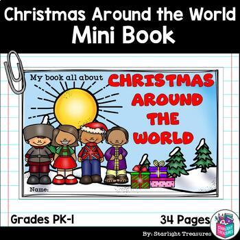 Christmas Around the World Mini Book for Early Readers