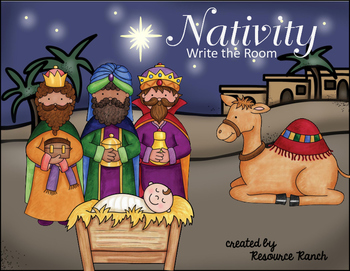 Christmas Around the World - Nativity - FREE