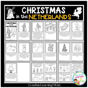 Christmas Around the World:Netherlands Book