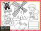 Christmas Around the World Netherlands/Holland Clip-Art