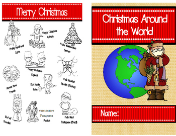 Christmas Around the World Nonfiction Mini Book