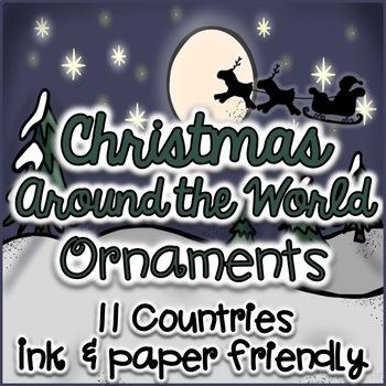 Christmas Around the World Ornaments