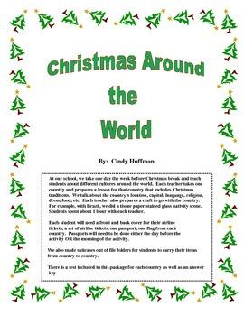 Christmas Around the World Packet 2
