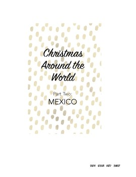 Christmas Around the World! Part Two: The Legend of the Poinsettia in Mexico!