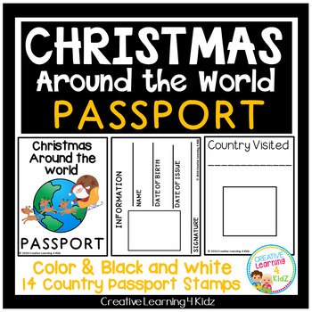 Christmas Around the World Passport