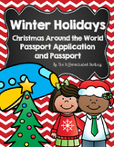 Christmas Around the World Passport Application and Passport