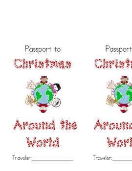 Christmas Around the World Passport Cover