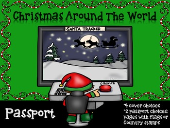 Christmas Around the World ~ Passport and Suitcase