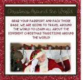 Christmas Around the World Passport with PowerPoint