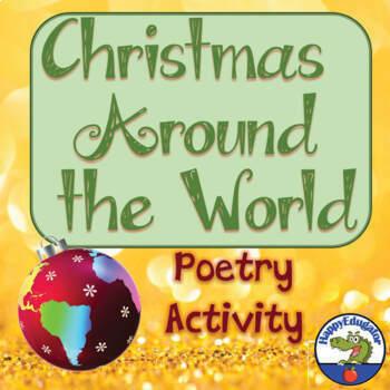 Holidays Around the World - Christmas Around the World Poetry Activity