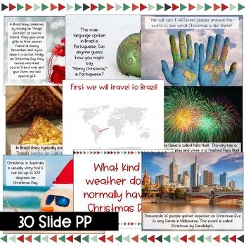 Christmas / Holidays Around the World Power Point & Activities!