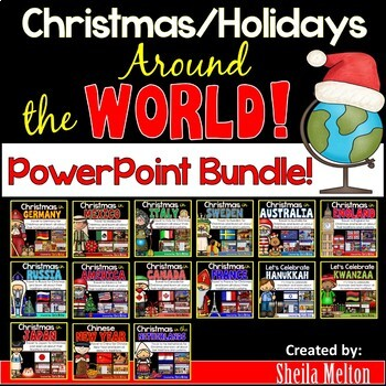 Christmas Around the World PowerPoint BUNDLE!