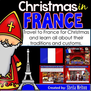 Christmas Around the World PowerPoint: France