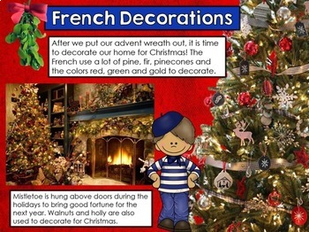 Christmas In France Decorations.Christmas In France Powerpoint Christmas Around The World