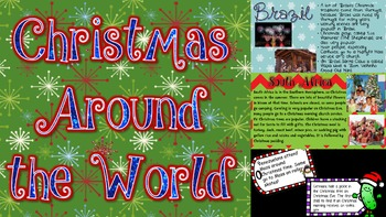 Christmas Around the World PowerPoint/PDF